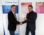 SAP-Forschungschef Stephan Fischer wird Lutz Heuser als Sprecher des Software Clusters ablösen. Quelle: SC