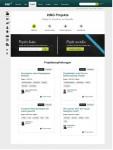 """Startseite von """"Xing Projekte"""". Quelle: Xing"""