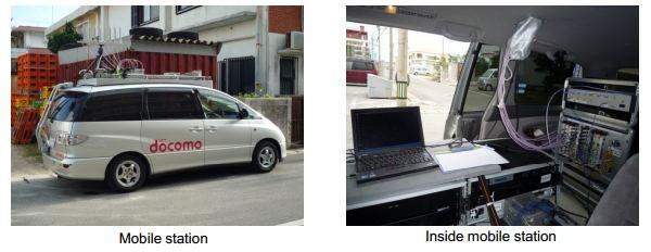 NTT DOCOMO hat zum ersten Mal in diesem Fahrzeug die Mobilfunktechnologie 5G getestet. Quelle DOCOMO