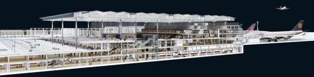 Der Flughafen Berlin Brandenburg (BER) ist von technischen Mängeln geplangt. Quelle: BER