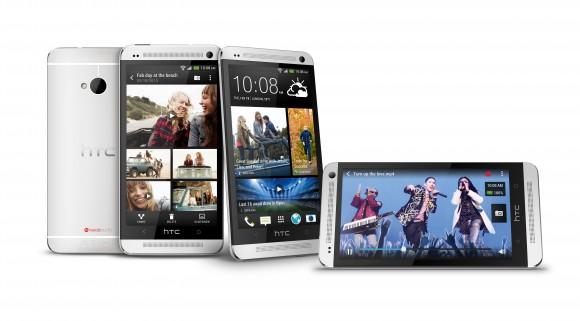 Neben der schwarzen Ausführung gibt es das HTC One auch in Weiß.