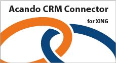 Xing Connector von Acando Microsoft CRM