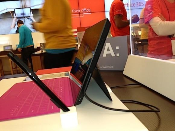 Das Surface Pro im Microsoft-Shop. Quelle: Cnet.com
