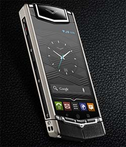 Vertu Ti. Screenshot: silicon.de via Vertu.com