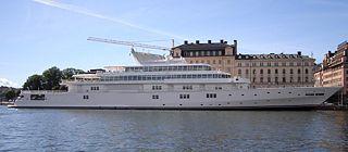 Die Yacht von Larry Ellison. Quelle: News.com.
