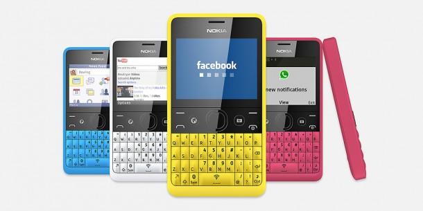 Nokia auf große Extras. Dafür kommt es mit einer QWERTZ-Tastatur, dem Betriebssystem S40 und zum günstigen Preis. Quelle: Nokia