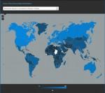 Die Welt aus Sicht der Breitbandverbindungen. Quelle: Akamai