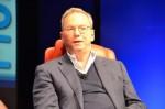 Google-Chairman Eric Schmidt auf der Konferenz Dive into Mobile. Quelle: Marguerite Reardon / News.com.