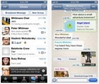 WhatsApp unter iOS. Quelle: ZDNet.