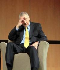 """CEO Goodnight: """"Der persönliche Instinkt ist weiterhin ein mächtiger Faktor."""" Quelle: Harald Weiss/silicon.de."""