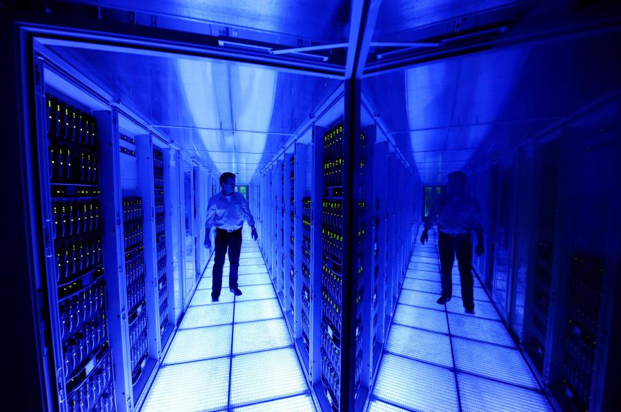 Aus SAP-Rechenzentren heraus, wie hier in St. Leon-Rot, bietet SAP die HANA Enterprise Cloud als Service an. Quelle: SAP