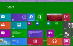 Windows Blue bringt Veränderungen für den Startbildschirm von Windows 8 und neue Microsoft-Apps. Quelle: Winforum.eu / Screenshot: CNET.com.