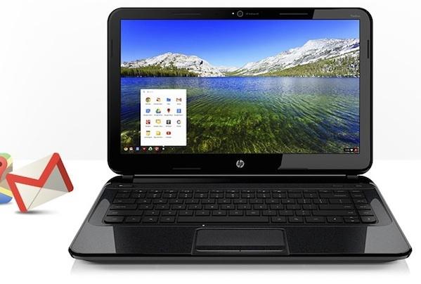 HPs Chromebook. Mit einem neuen KMU-Angebot wird HP zum Reseller von Google Apps for Businesses. Quelle: HP