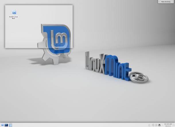 Linux Mint 15 - Codename Olivia - unter KDE 4.10
