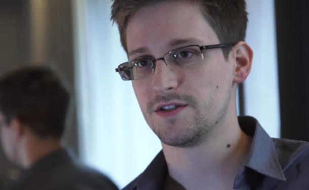 Whistleblower Edward Snowden. (Screenshot: News.com via Guardian.)