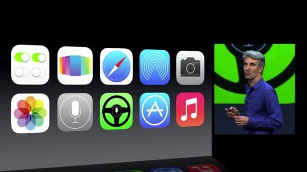 Apple vereinfacht die Icons in iOS 7.