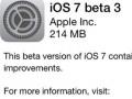Beta iOS 7