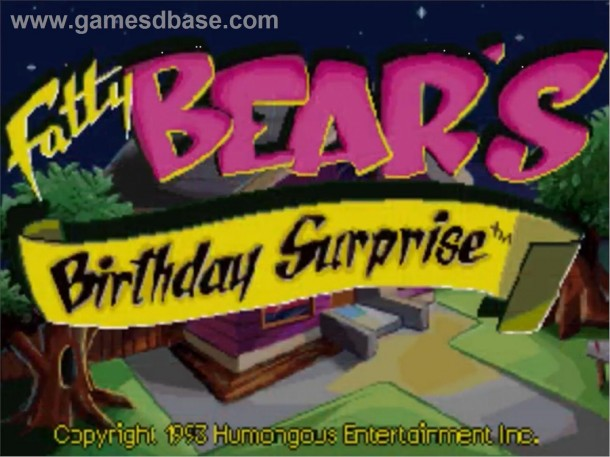 Fatty Bear´s Birthday Surprise. Quelle: Gamesdbase