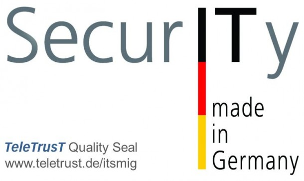 """""""Security made in Germany"""". Quelle: TeleTrusT"""