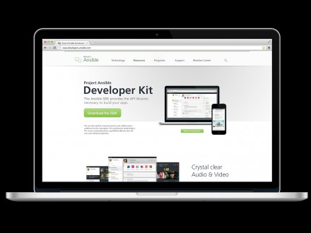 """Mit dem Software Development Kit können Entwickler in Unternehmen maßgeschneiderte Lösungen oder Erweiterungen für """"Ansible"""" bauen (Bild: Siemens Enterprise Communications)."""