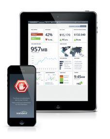 Die Mobile Data Optimization-Lösung von Wandera liefert eine Management- und Reporting-Lösung für mobilen Bandbreitenverbrauch. Quelle: Wandera