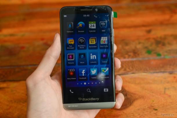 So könnte das neue BlackBerry A10 (Aristo) aussehen. Quelle: Tinhte