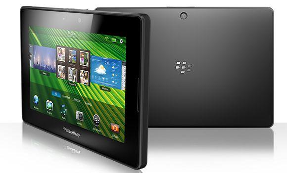 Die Zukunftsaussichten für das BlackBerry Tablet Playbook sind derzeit eher schlecht. Quelle: BB