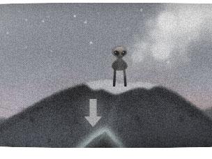 Google Doodle zum 66. Jahrestages des so genannten Roswell-Vorfalls.