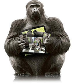 Gorilla Glass Touch-Notebook