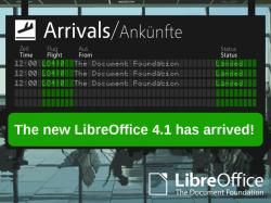LibreOffice 4.1 ist fertig