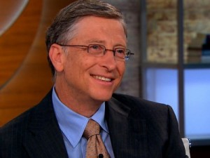 Bill Gates (Screenshot: silicon.de)