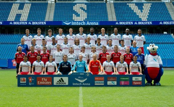 Mannschaftsfoto HSV