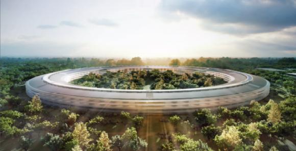 """Steve Jobs beschrieb die geplante Apple-Zentrale in Cupertino als """"einem Raumschiff ähnlich"""" (Bild: Apple)."""