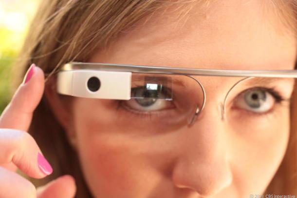 Google Glass (Bild: Sarah Tew/CNET)