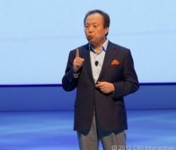 Samsung-CEO J.K. Shin (Foto: CNET)