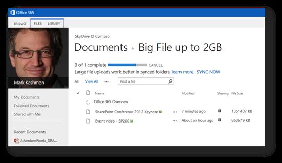 SharePoint Online behebt in einer neuen Version einige Limitierungen und Fehler. Quelle: Microsoft
