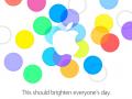 Einladung zu Apples iPhone-Event 2013