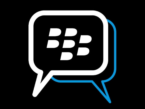 Logo des Blackberry Messenger