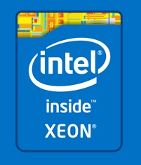 Logo: Intel Xeon inside