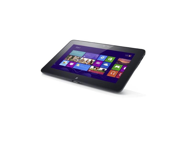 Eine Sonderedition des Dell-Tablets Latitude 10 ist nun mit der Blicksteuerung von Tobii Technology erhältlich (Bild: Dell).