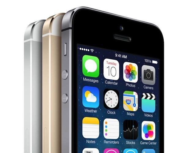 Das neue iPhone 5S kommt in drei Farbvarianten. Quelle: Apple