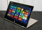 Lenovo zeigt mit Yoga 2 Pro und Thinkpad Yoga zwei Convertibles