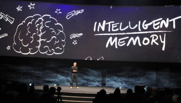"""Scott Gnau, President der Teradata Labs, arbeitet zwar auch mit In-Memory, doch nur """"heiße"""" Daten, die häufig  gebraucht werden, kommen in den Arbeitsspeicher. Das spart Ressourcen. Quelle: Harald Weiss"""