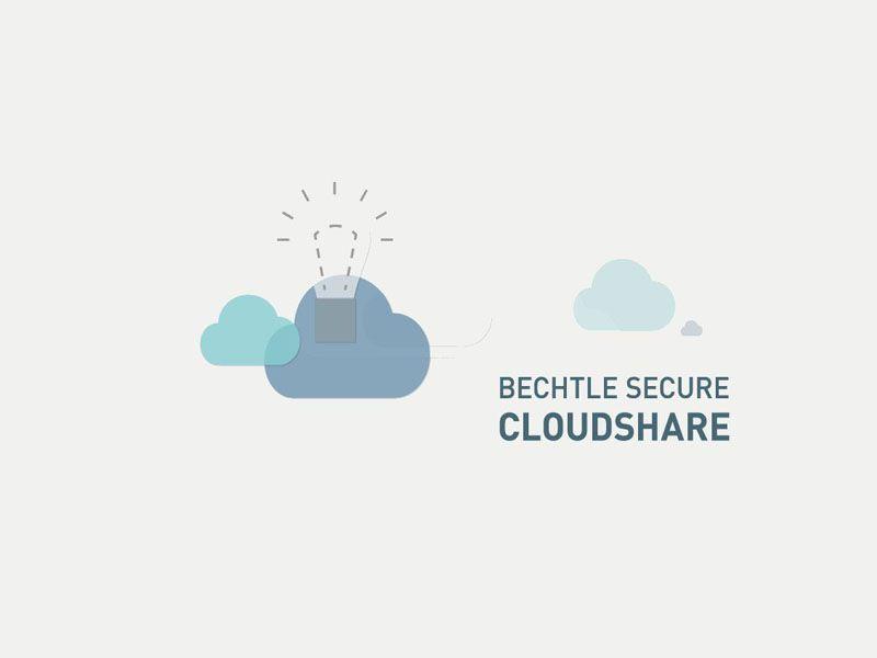 Mit Secure CloudShare tritt das deutsche IT-Systemhaus Bechtle in Wettbewerb zu Angeboten von Dropbox und Box.net – und hat seinen Angriff mit deutscher Gründlichkeit vorbereitet (Bild: Bechtle).