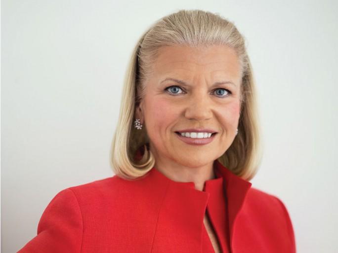 IBM-CEO Trotz historisch niedringen Umsatzzahlen fühlt sich IBM CEO Ginni Rometty für die Zukunft gerüstet. Quelle: IBM Ginni Rometty (Bild: IBM)