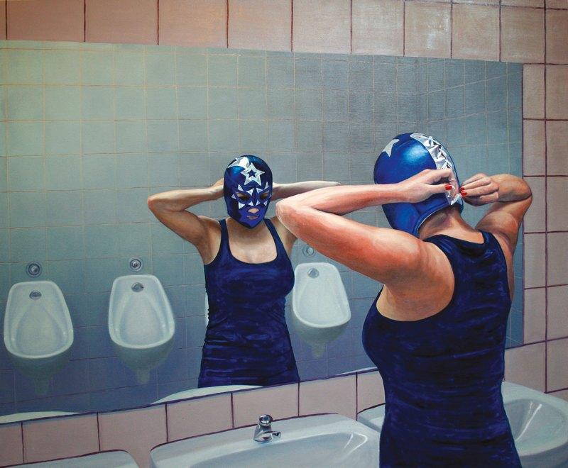 PATRÍCIA JAGICZA, Estrella, 2010, Öl auf Leinwand / Oil on Canvas, 150 x 180 cm, © Sammlung Essl Privatstiftung, Foto: Archiv der Künstlerin