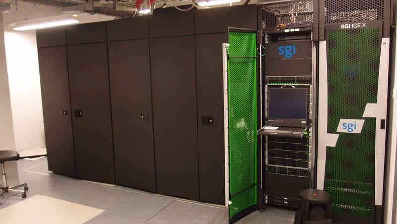 Der Supercomputer MENDEL steht im Gregor Mendel Institut in Wien. (Bild: Imgur, LLC)