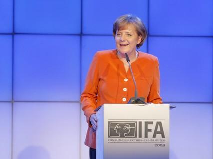 """""""Auch als Deutsche Kanzlerin"""" ... Darf die Politik INdustrie 4.0 vorschreiben."""