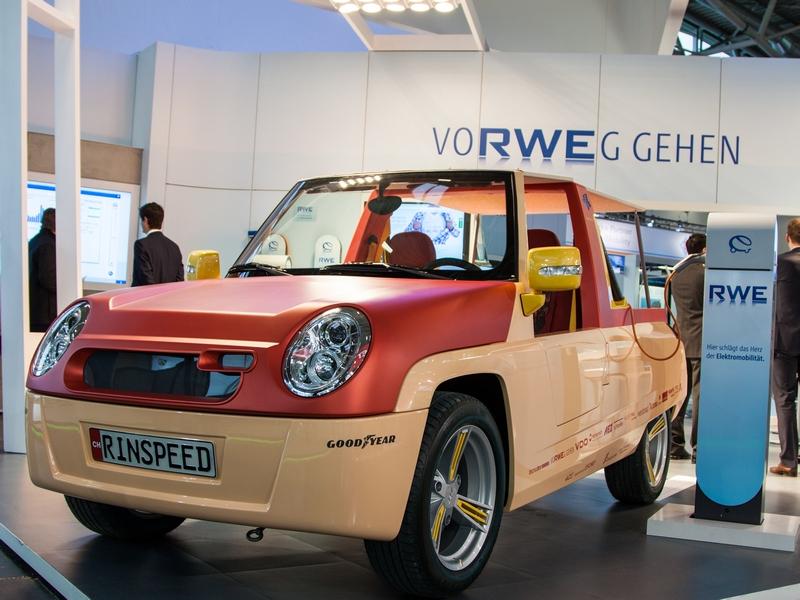 1300 Ladestation bietet RWE und seine Partner in ganz Deutschland an.