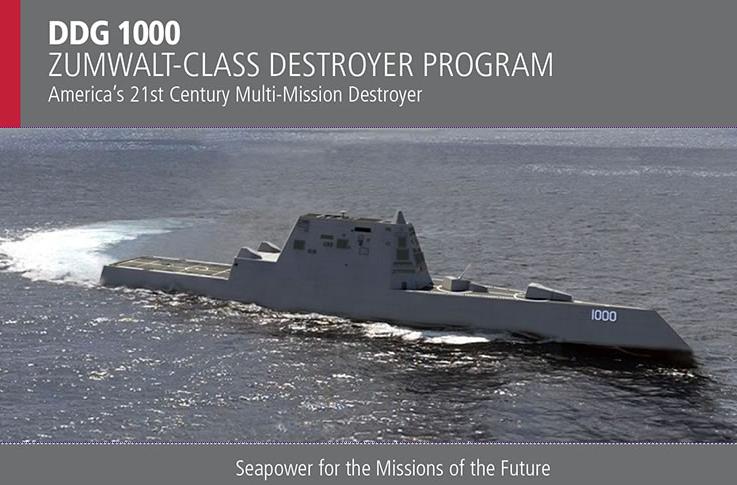 Die Systme des Kriegsschiffs USS Zumwalt laufen mit Linux. (Bild: Raytheon)
